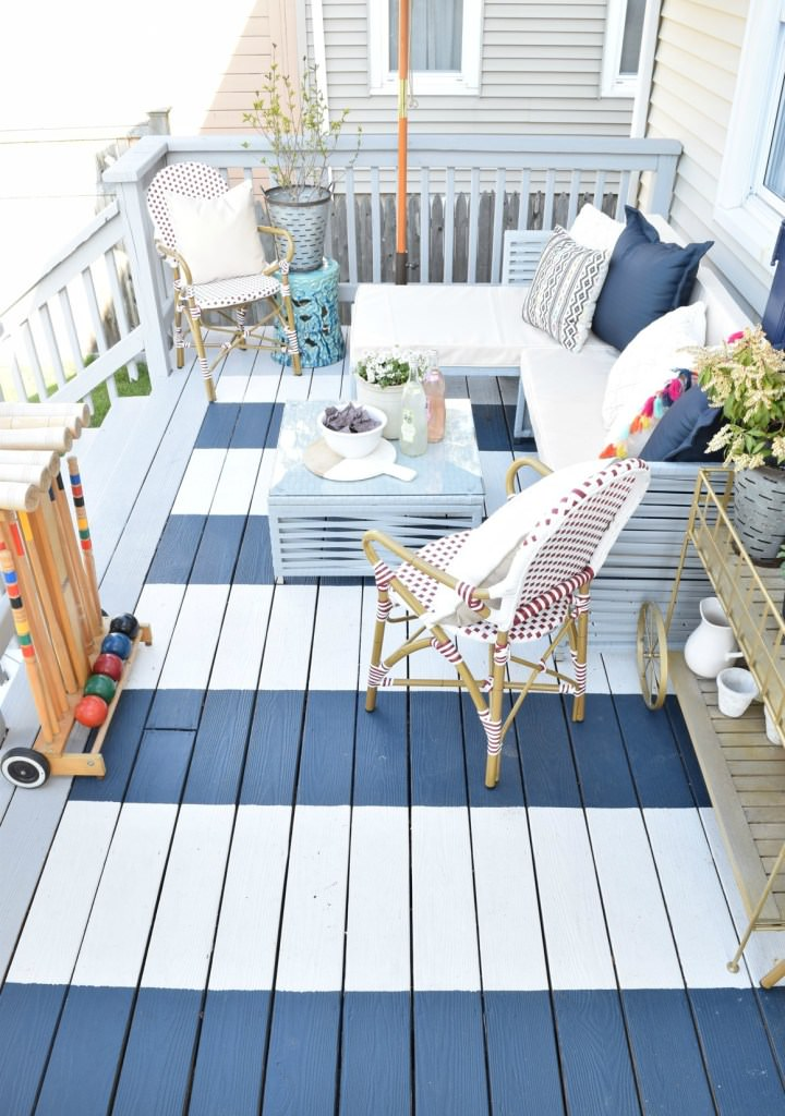 18 Gorgeous Diy Outdoor Decor Ideas For Patios Porches Backyards The Unlikely Hostess