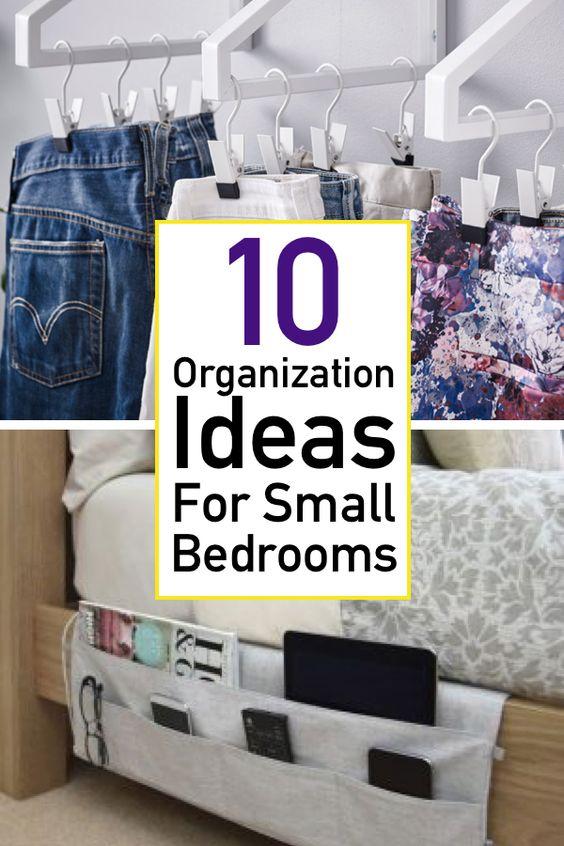 10 Genius Small Bedroom Organization Ideas The Unlikely Hostess