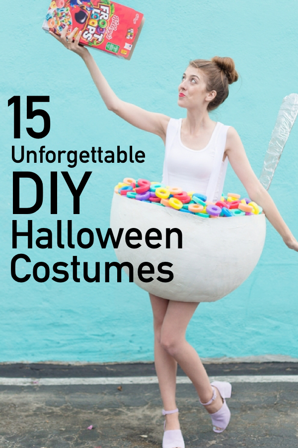 15 Insanely Creative DIY Halloween Costumes | The Unlikely ...