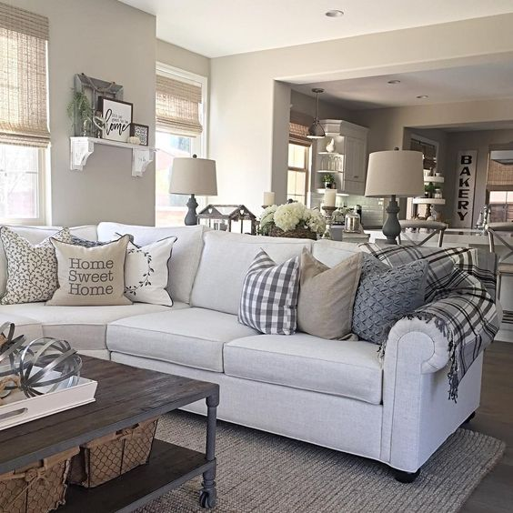 7 Apartment Decorating And Small Living Room Ideas: 15 Gorgeous Farmhouse Decor Ideas For Your Living Room