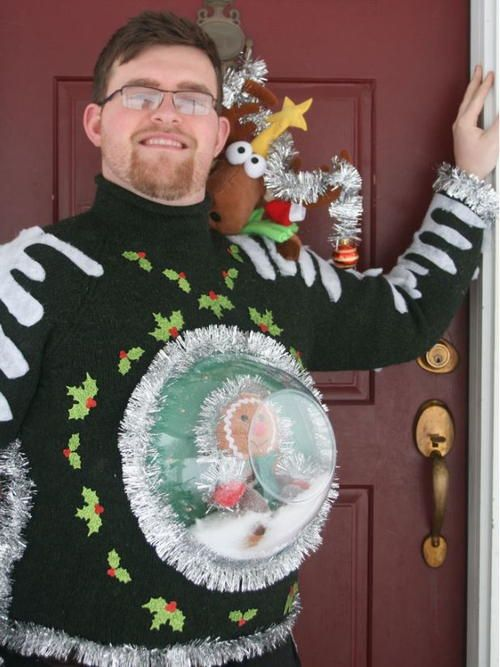Ugly Christmas Skirt Ideas.15 Hilarious Ugly Christmas Sweater Diys The Unlikely Hostess