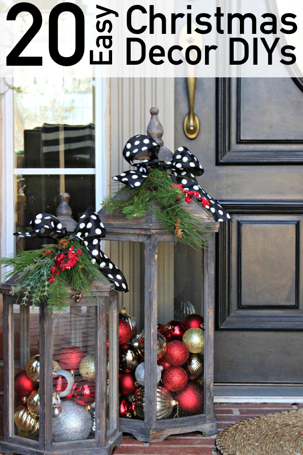 Christmas Decor Ideas.20 Dazzling Diy Christmas Decor Ideas The Unlikely Hostess
