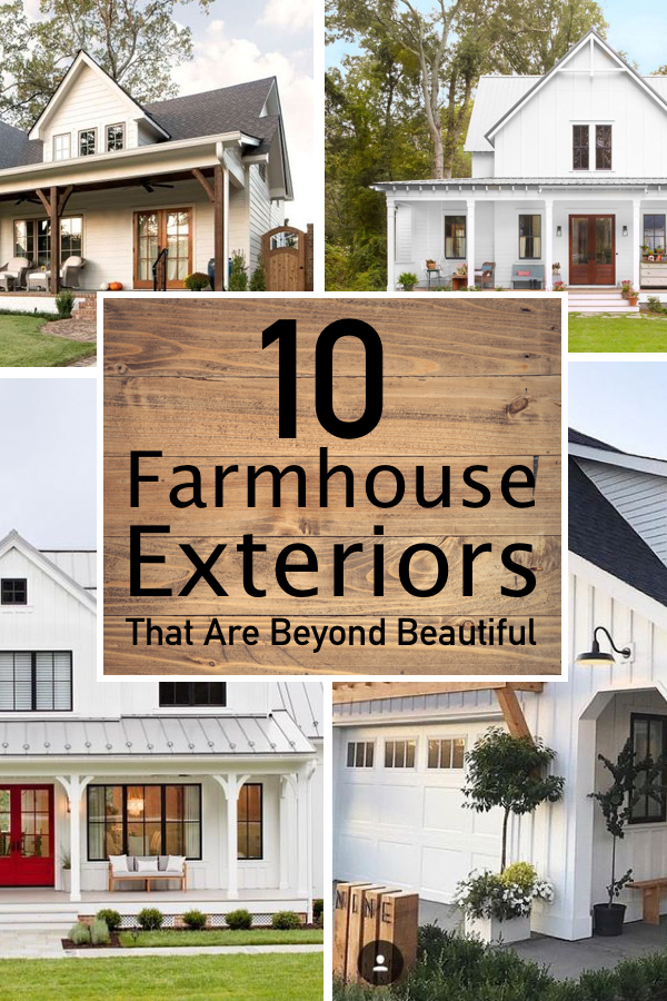 10 Seriously Inspiring Farmhouse Exteriors The Unlikely Hostess