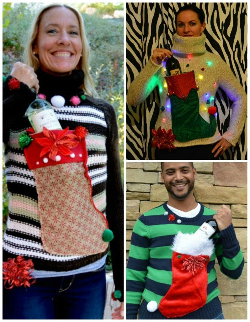 15 Hilarious Ugly Christmas Sweater Ideas   The Unlikely ...