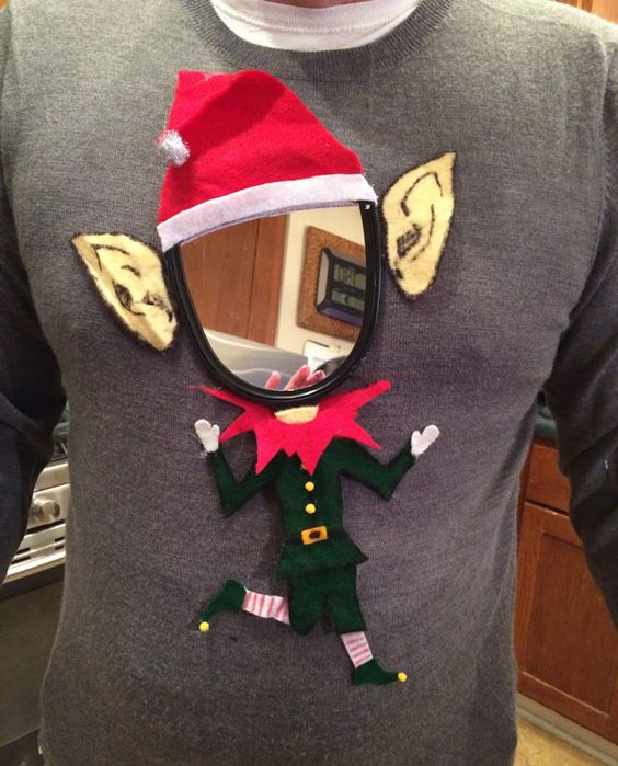 #15) DIY Ugly Elf
