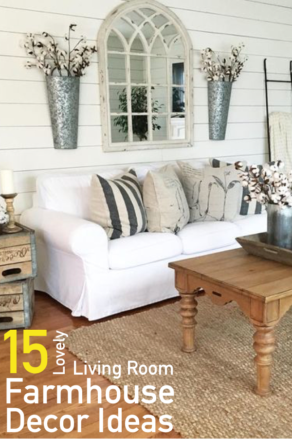 farmhouse room decor 27 rustic farmhouse living room decor ideas for your home homelovr 15 Charming Farmhouse Living Room Decor Ideas The Unlikely Hostess