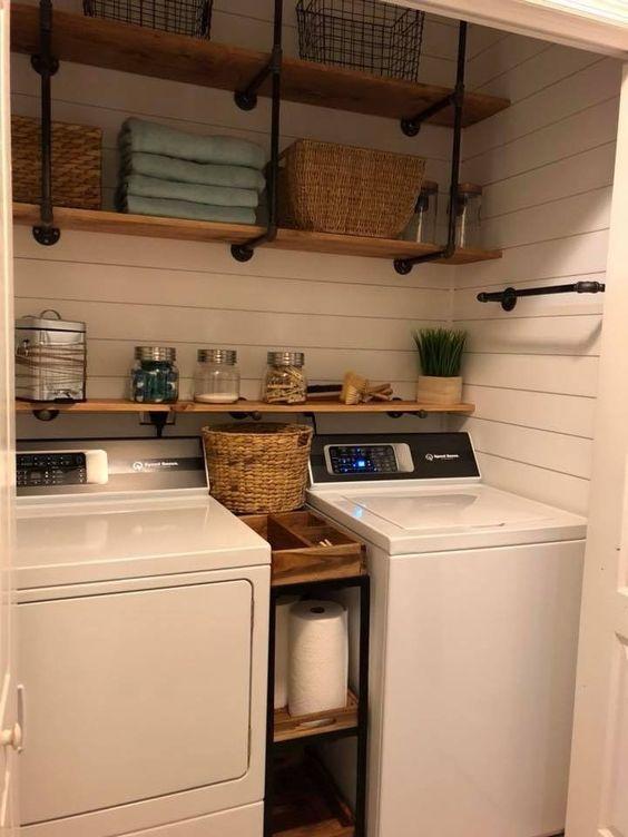 11 Brilliant Laundry Room Ideas The Unlikely Hostess