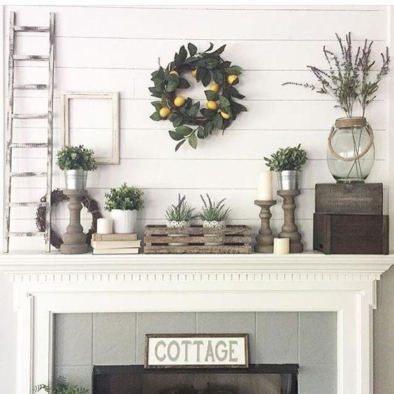 11 Mantel Decor Ideas With Farmhouse Style