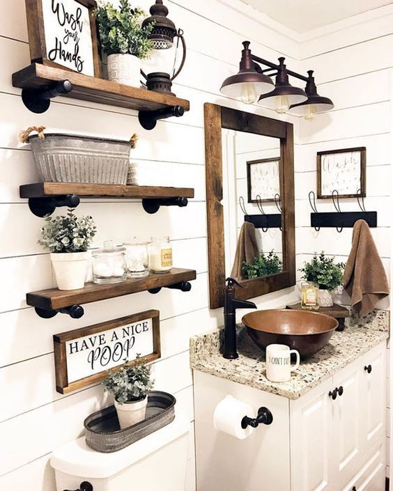 12 Stylish Functional Bathroom Decor Ideas The Unlikely Hostess
