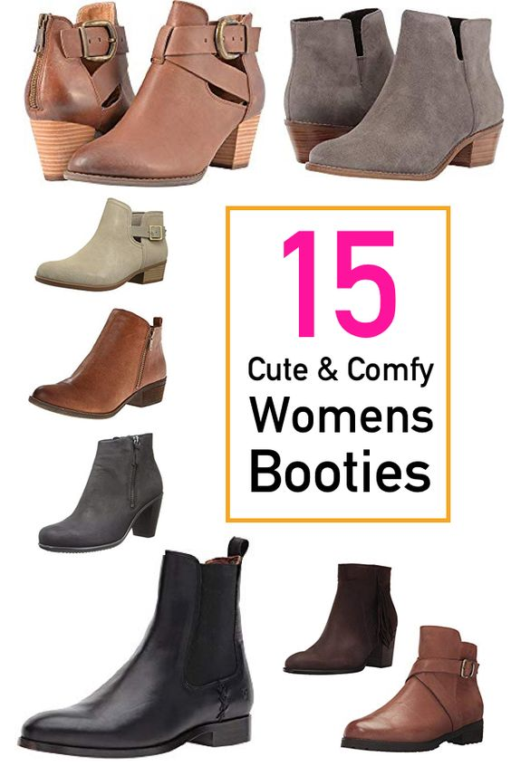 Booties That Are Crazy Comfortable