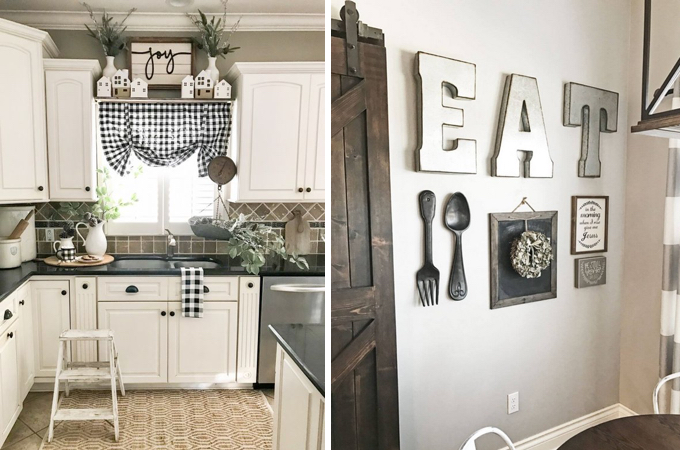 15 Kitchen Decor Ideas With Farmhouse Style The Unlikely Hostess